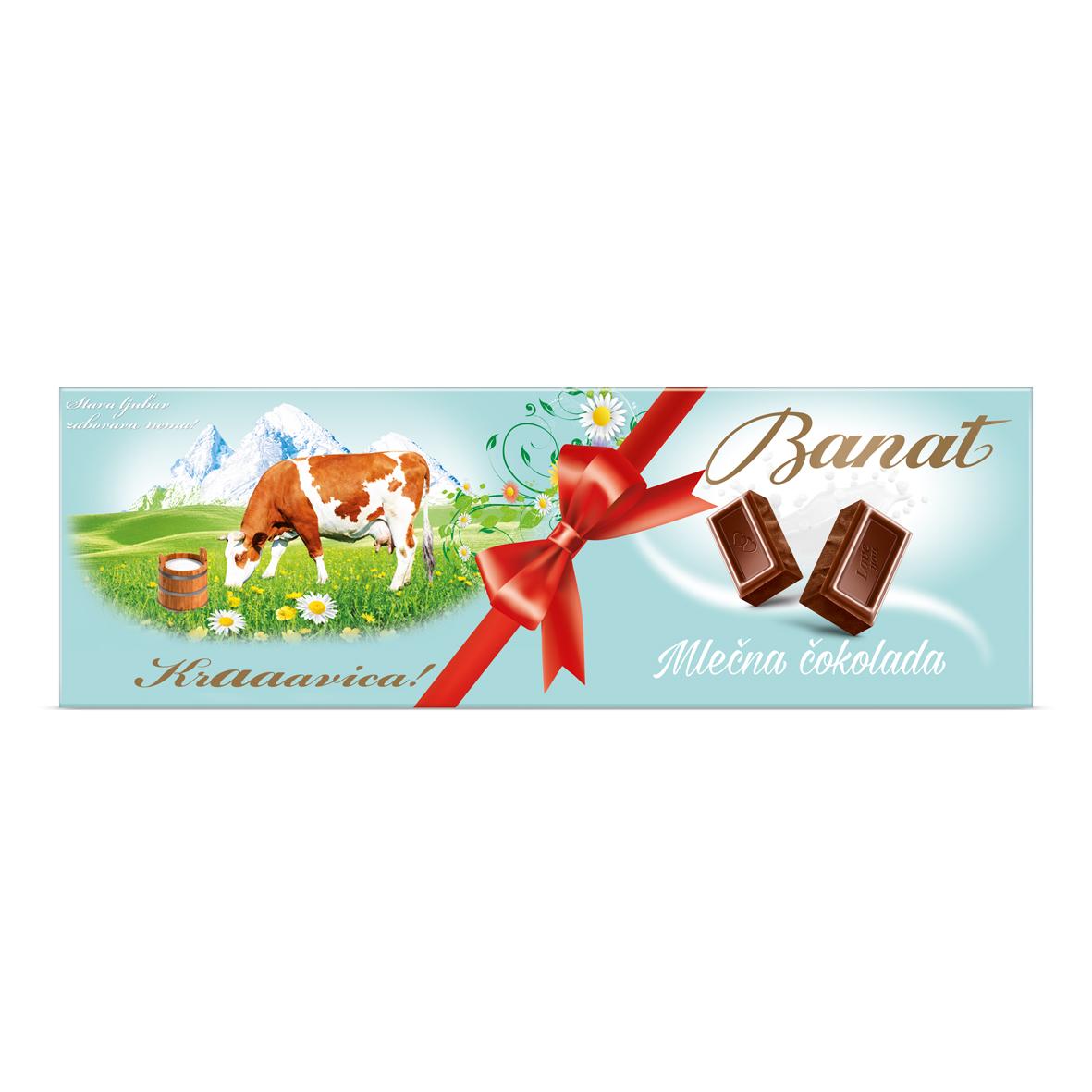 Banat Cokolada Mlecna 240g