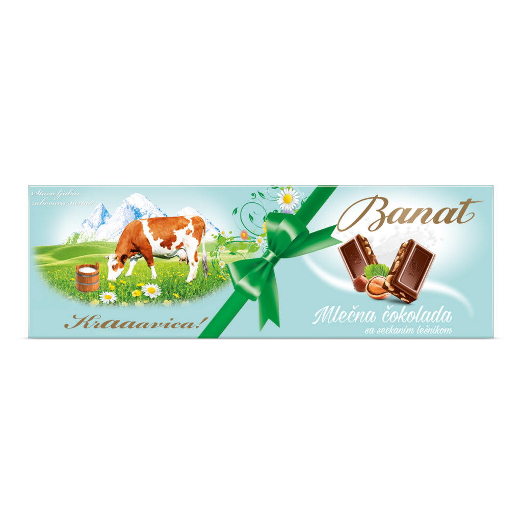 Banat Cokolada Sa Lesnikom 240g