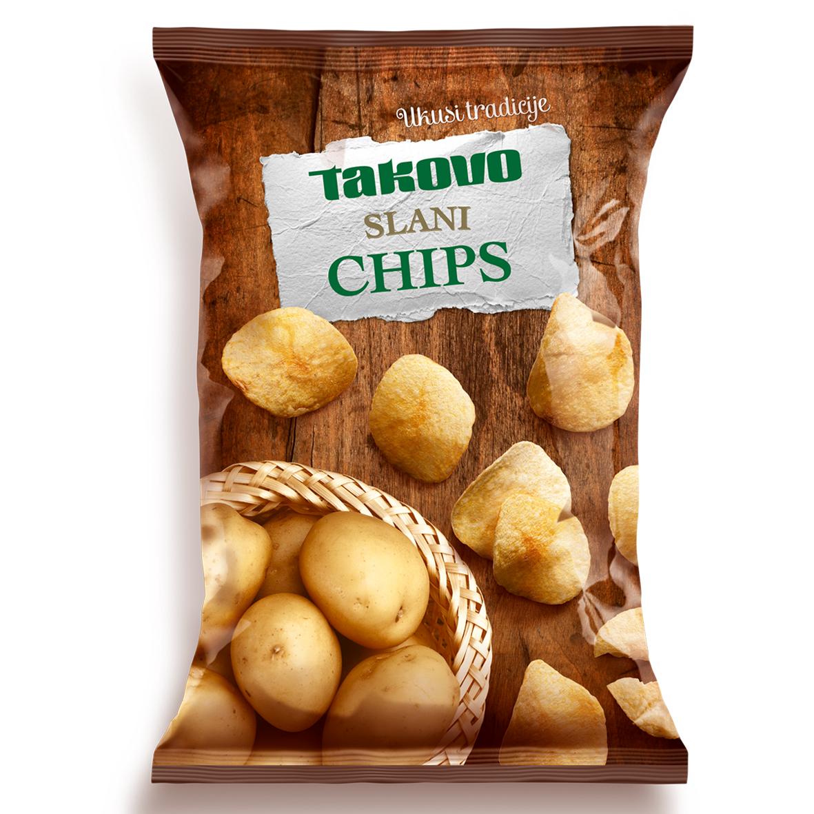 Chips 200g