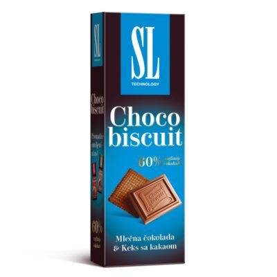 Choco Biscuit Kakao keks 125g