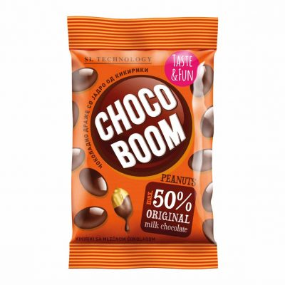 Choco Boom kikiriki 80g