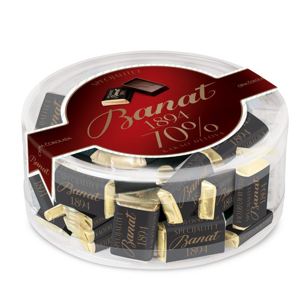 Specijalitet čokolada 70% kakao delova Banat 1894