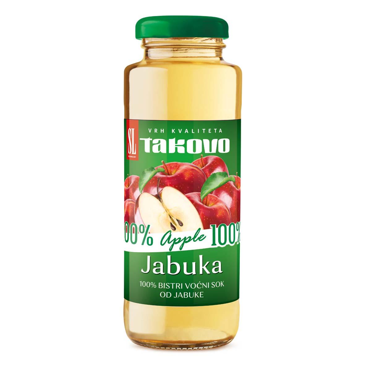 Bistri voćni sok od jabuke 100%