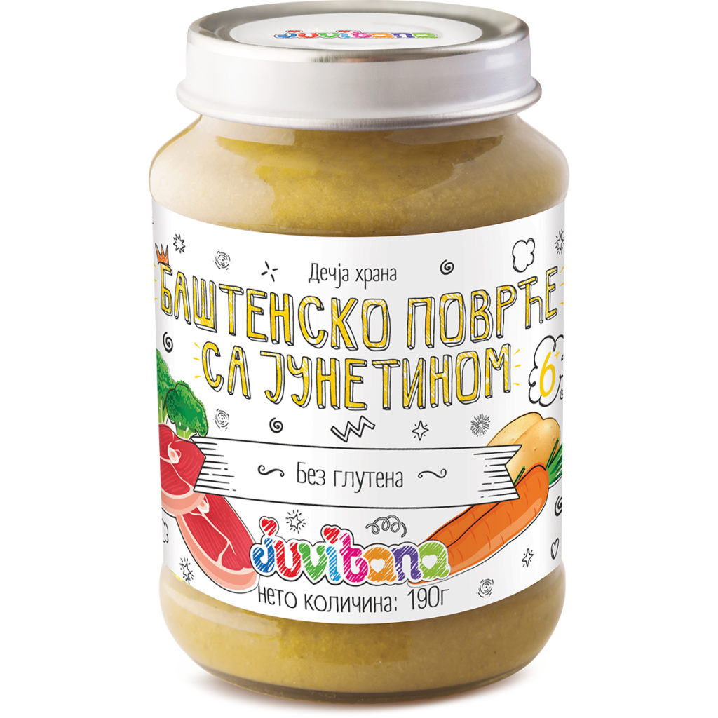 Juvitana bastensko povrce sa junetinom 190g