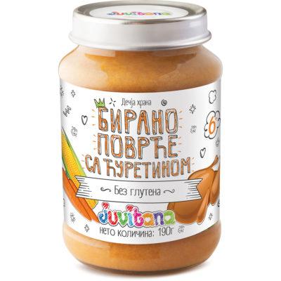 Juvitana birano povrce sa curetinom 190g