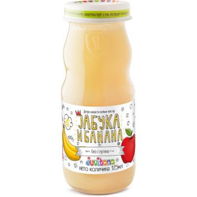 Juvitana jabuka banana nektar 125ml