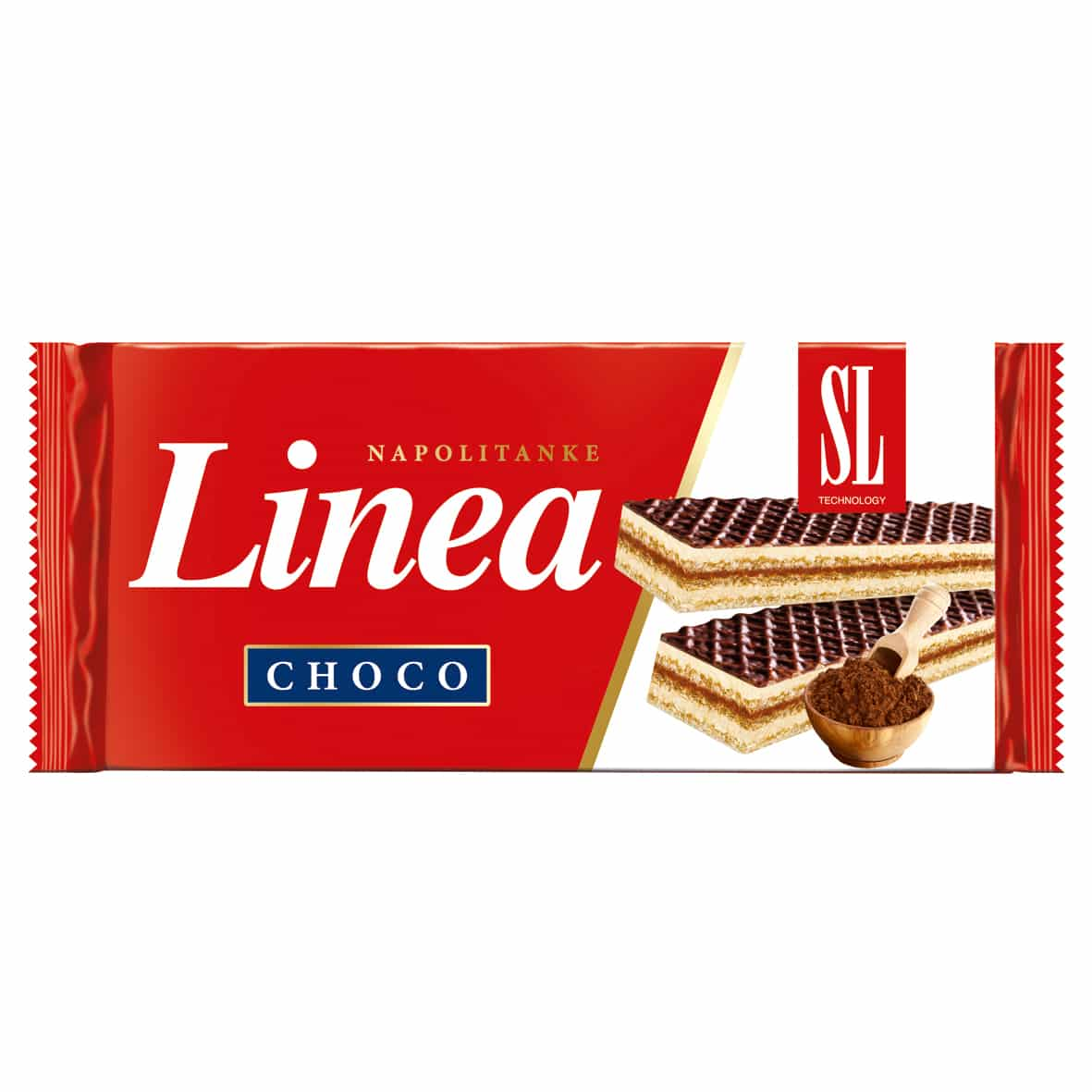 Linea Wafel Choco 160g