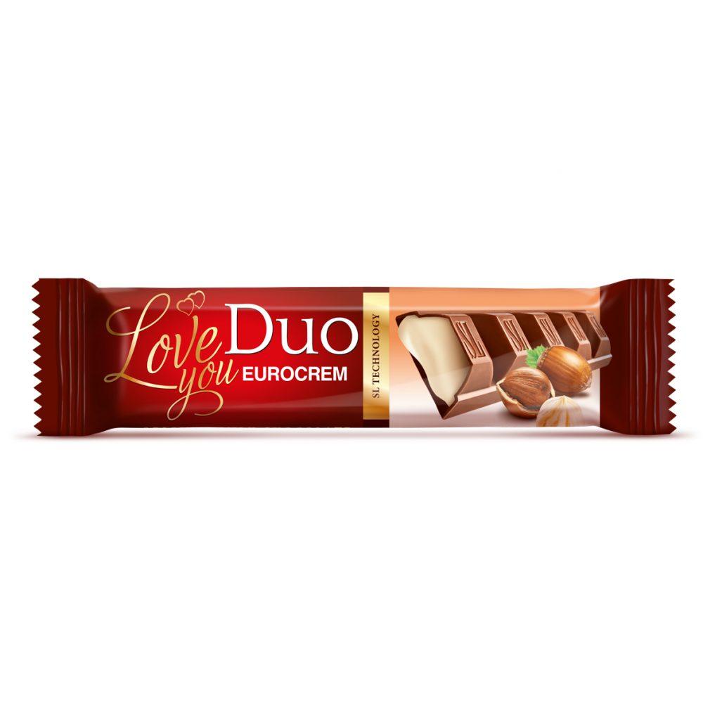 Čokolada sa Eurocremom Duo 40g