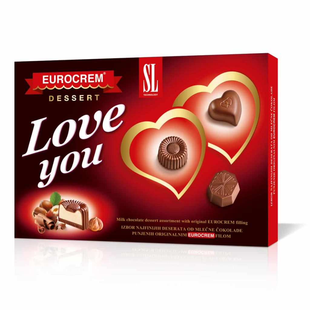 Love you Eurocrem dessert 160g