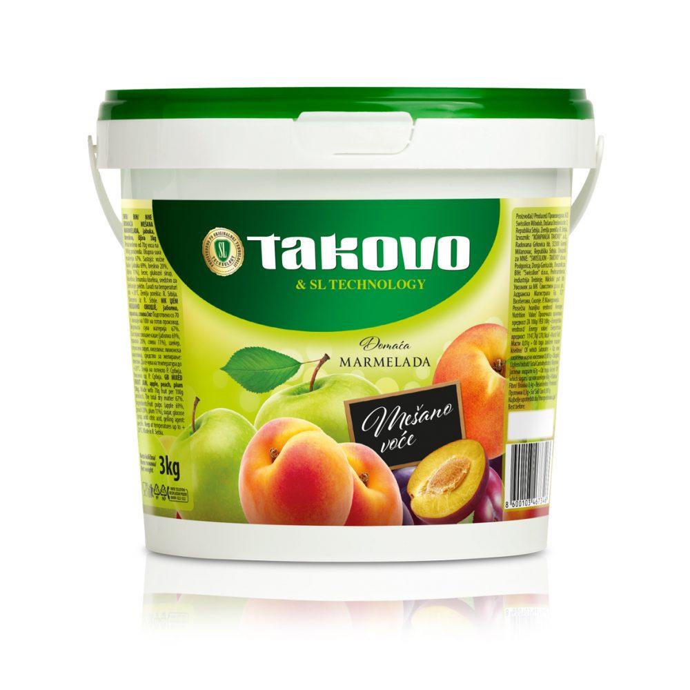 Marmelada mešano voće 3kg