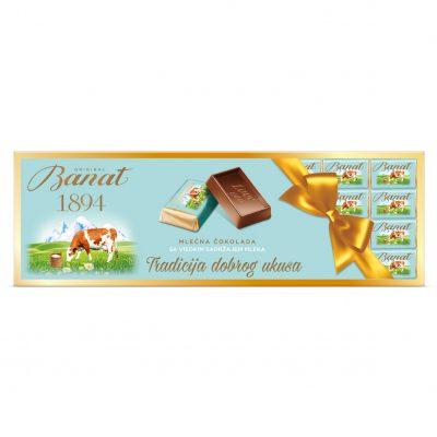 Banat mlečna čokolada 192g