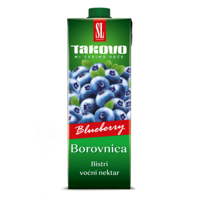 Nektar Borovnica 1L