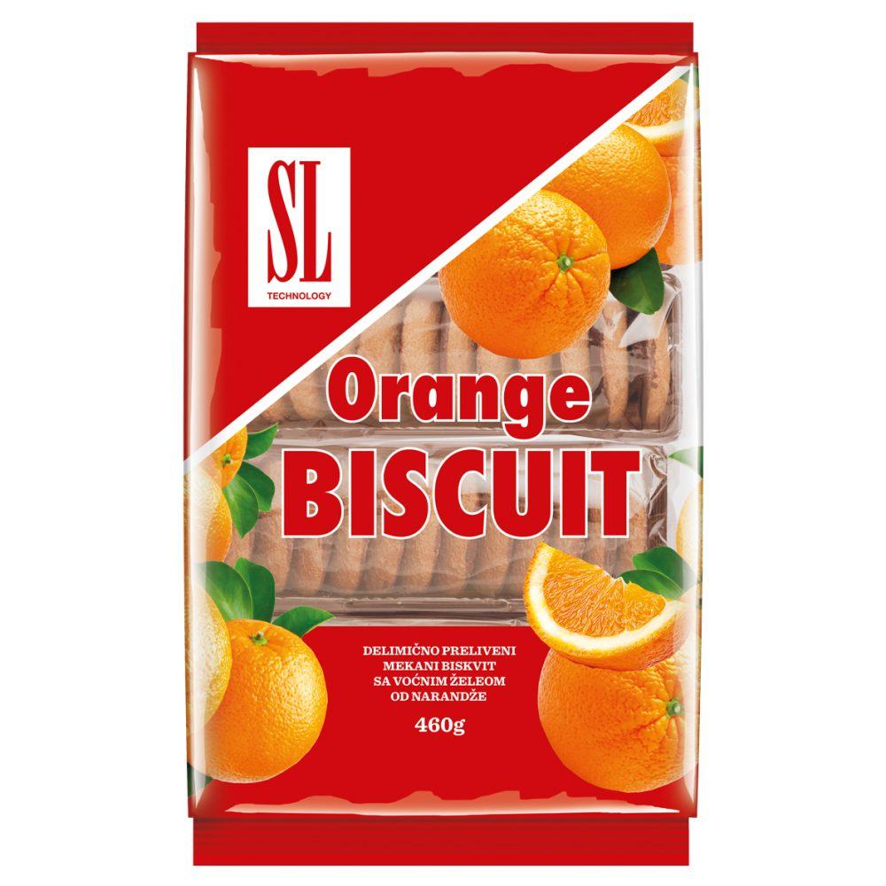 SL Orange biscuit 460g