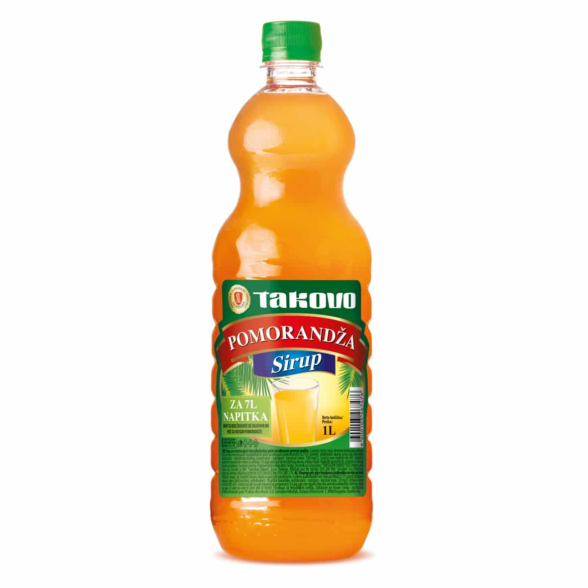 Sirup pomorandža  1l PET
