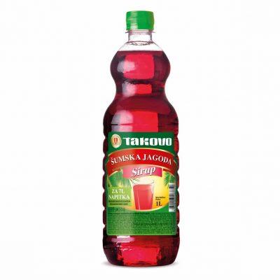 Sirup šumska jagoda 1l PET