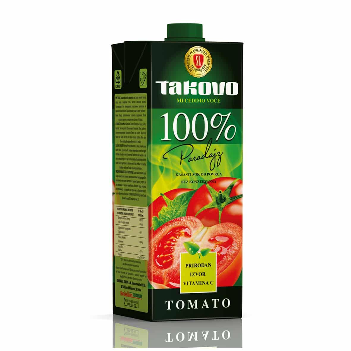 Paradajz kašasti sok od povrća 100%