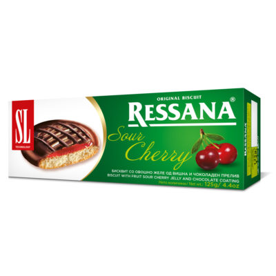 Ressana Sour Cherry 125g