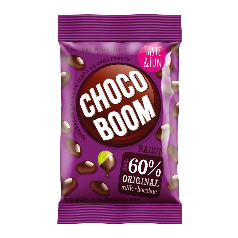 Choco Boom grožđe 80g