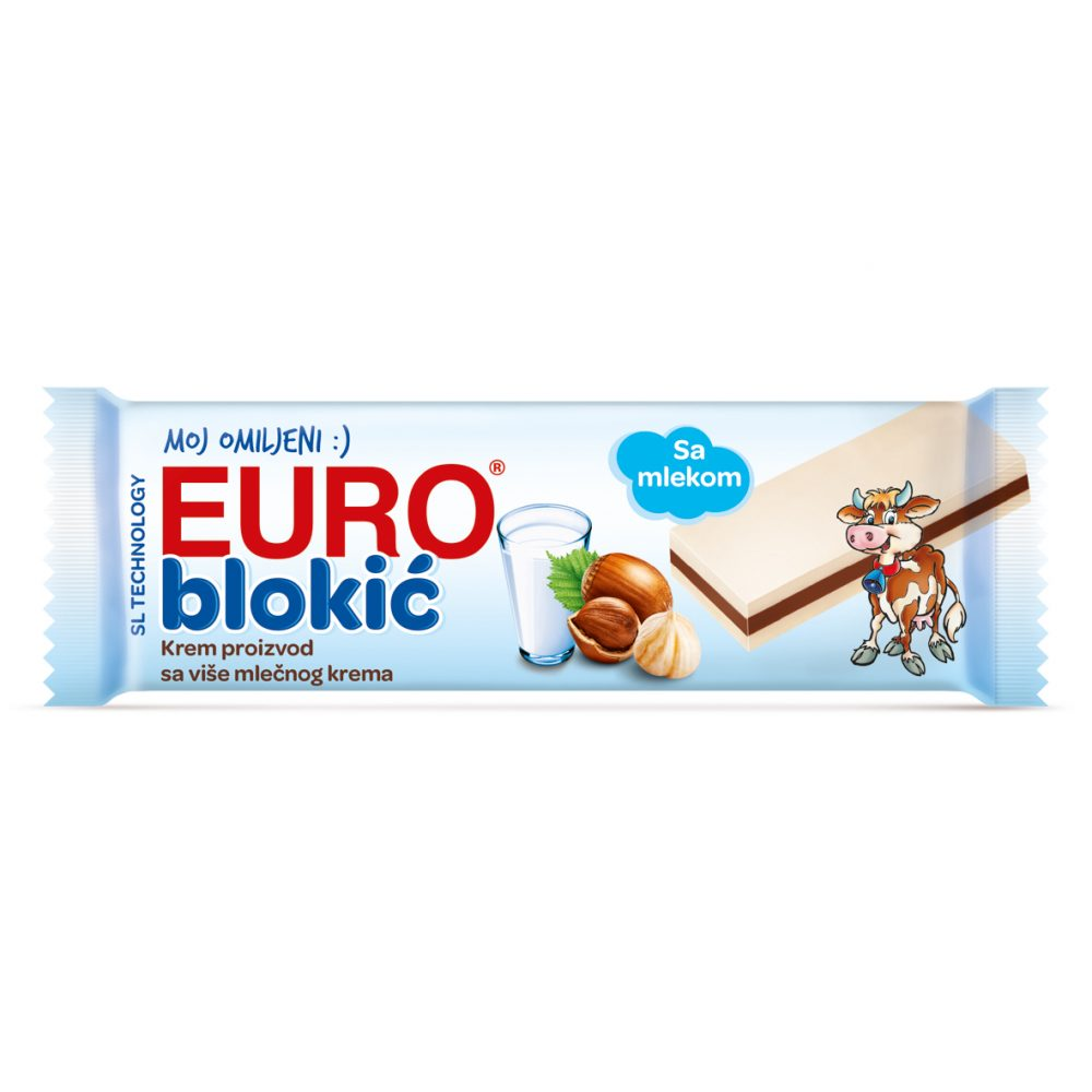 Euro blokić 50g