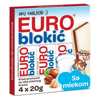 Euro blokić 80g