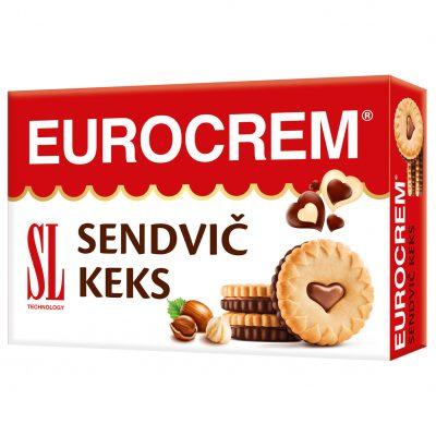 Eurocrem sendvič keks 250g