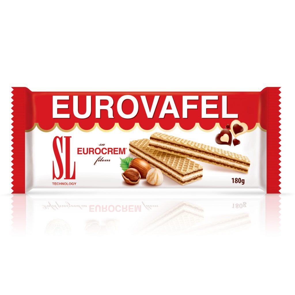 SL Eurovafel sa kakao prelivom 180g