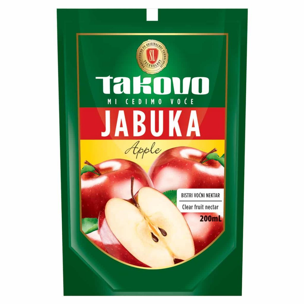 Bistri voćni nektar jabuka 200ml