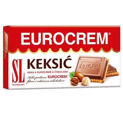 Eurocrem keksić 145g