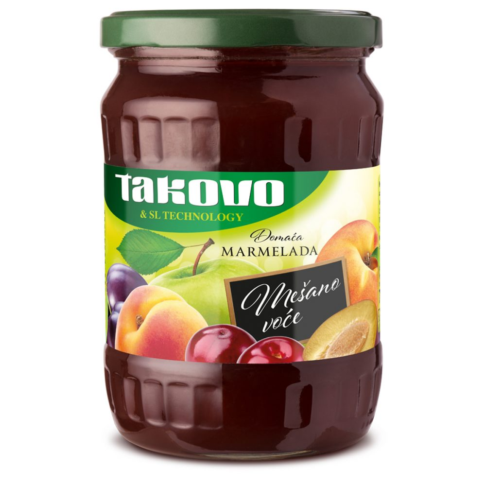 Domaća marmelada mešano voće 700g