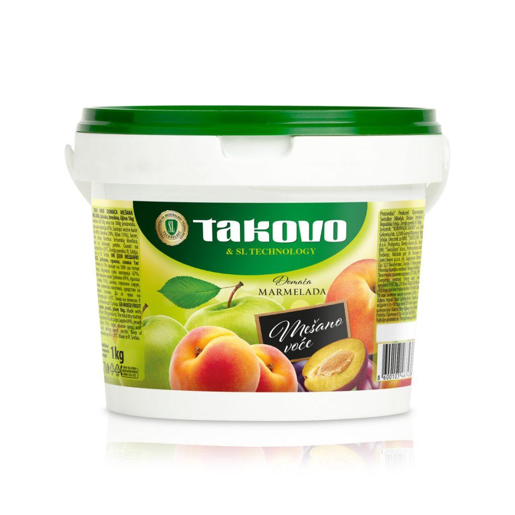 Marmelada mešano voće 1kg