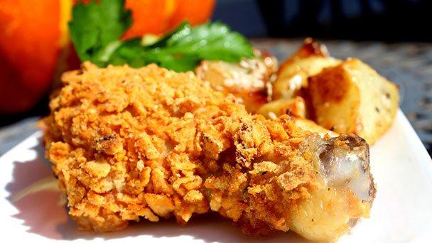 Pečena piletina u kaputiću od Hello Chips-a