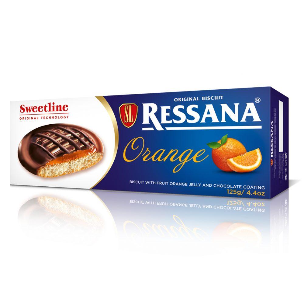 Resana Pomorandža biscuit 125g