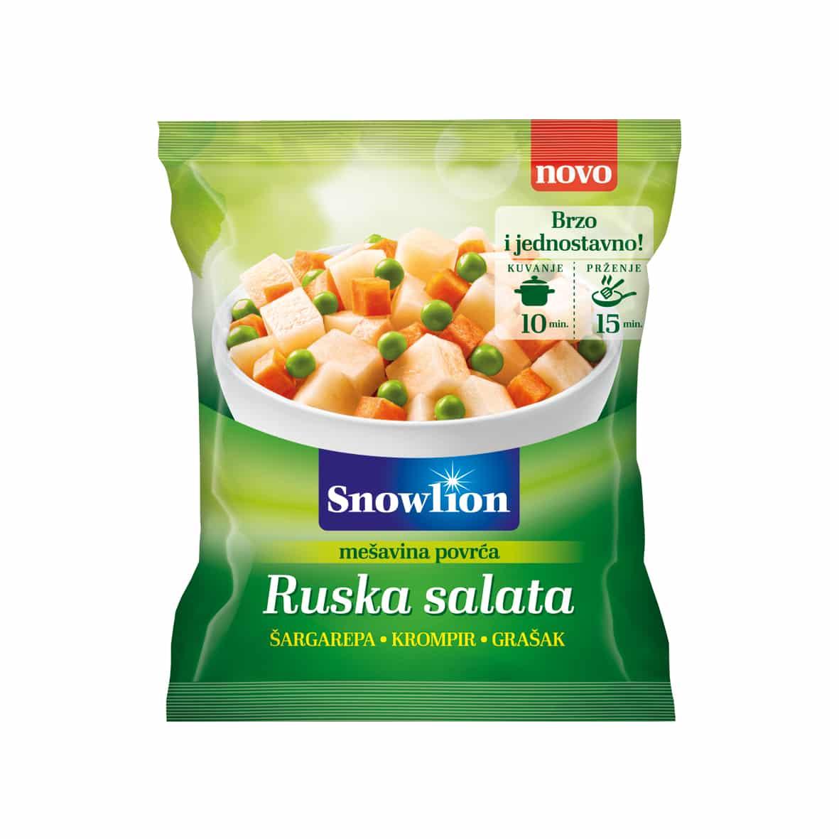 Mešavina povrća za rusku salatu 450g