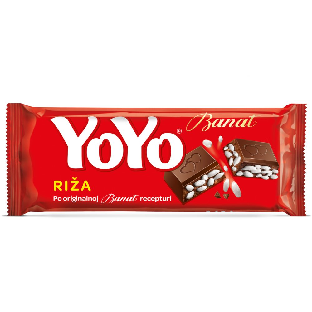 YOYO čokolada s rižom 80g