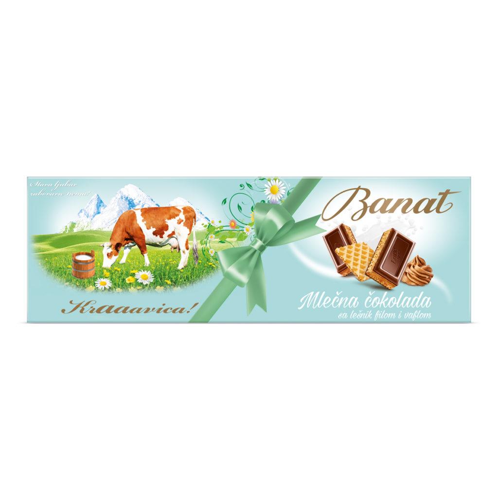 Banat Cokolada Vafel 240g