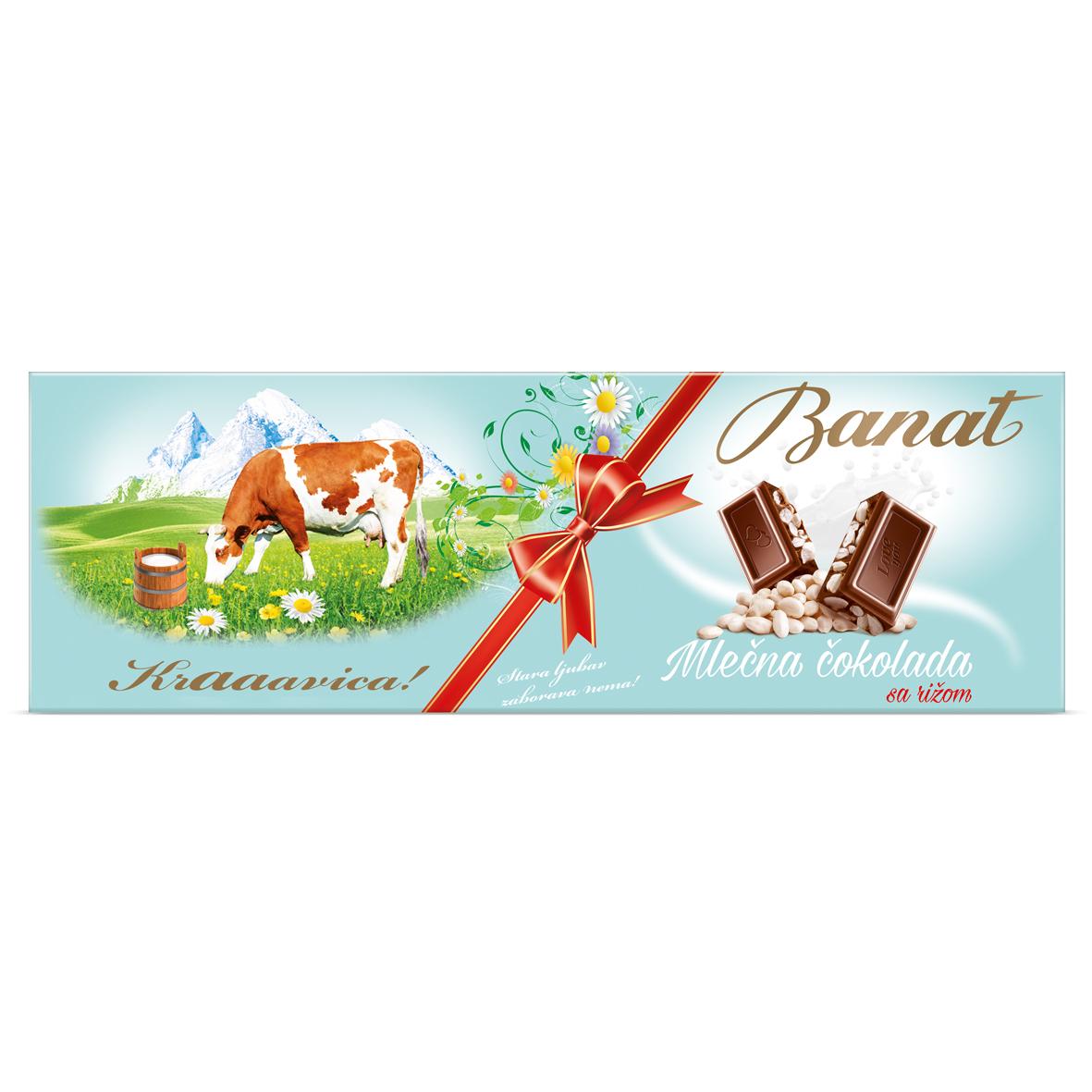Banat cokolada riza