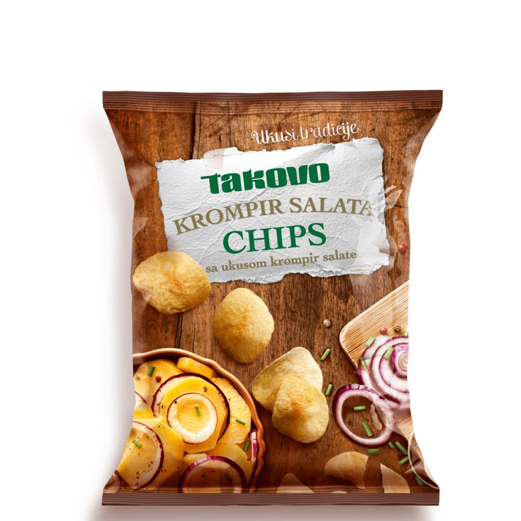 Chips Kromir Salata 80g