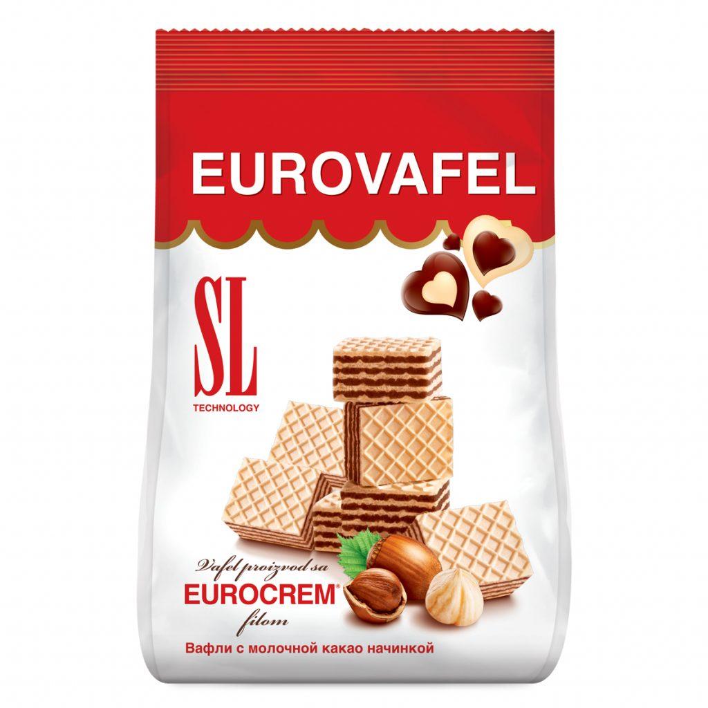 Eurovafel Kocka 200g
