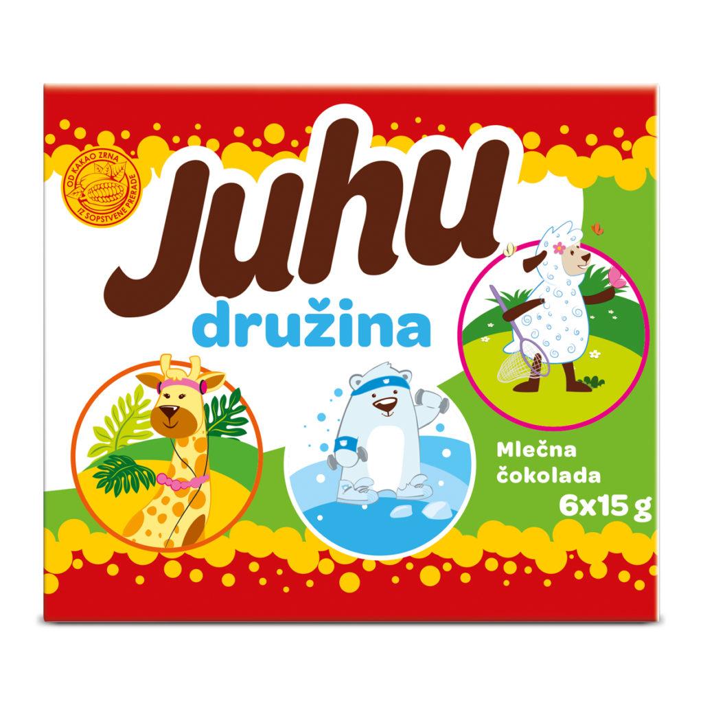 Juhu Druzina 6x15g