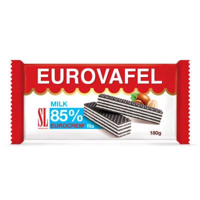 Eurovafel Milk 85% Fila 180g